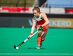 ROTTERDAM - Lisa Post (Ned)  tijdens de Pro League hockeywedstrijd dames, Netherlands v USA (7-1)  ..COPYRIGHT  KOEN SUYK