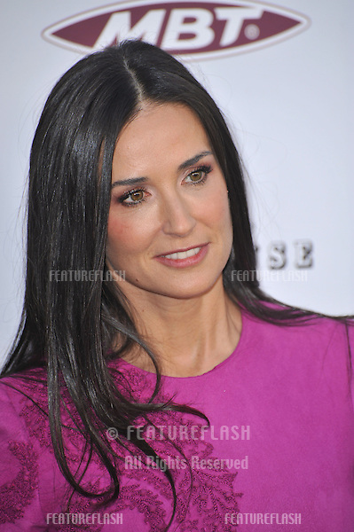 """Demi Moore at the Los Angeles premiere of her new movie """"The Joneses"""" at the Arclight Theatre, Hollywood..April 8, 2010  Los Angeles, CA.Picture: Paul Smith / Featureflash"""
