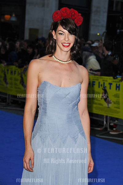 "Polyanna McIntosh arriving for the ""Filth"" premiere at the Odeon Leicester Square, London. 30/09/2013 Picture by: Steve Vas / Featureflash"