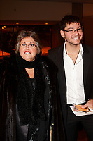 Ginette Reno, singer and actress, (L)<br />