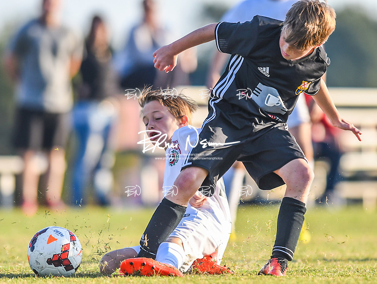 Germantown Legends Black vs. Vestavia Hills SC in the 016 adidas® BOYS Wolf River Classic at Mike Rose Soccer Complex in Memphis, Tenn. on Sunday, October 16, 2016. The Germantown Legends Black won 5-3 to win the tournament.