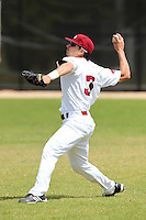 UMass Anthony Serino #3 during a game vs Indiana Hoosiers at Lake Myrtle Main Field in Auburndale, Florida;  March 16, 2011.  Indiana defeated UMass 11-10.  Photo By Mike Janes/Four Seam Images