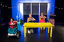 London, UK. 05.10. 2015. FALLING IN LOVE WITH FRIDA, by Caroline Bowditch, opens in the Lilian Baylis Studio, at Sadler's Wells. Picture shows: Caroline Bowditch, Welly O'Brien, Nicole Guarino, Yvonne Strain. Photograph © Jane Hobson.