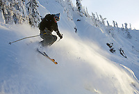 Chris Johnson in 'Trash Chutes' at Whitewater Resort near Nelson, BC
