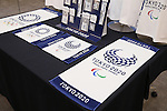 Tokyo 2020 Olympic and Paralympic games official goods, JUNE 22, 2016 : The Tokyo Organising Committee of the Olympic and Paralympic Games held a press conference, regarding the Tokyo 2020 Olympic and Paralympic games official goods in Tokyo, Japan. (Photo by Yusuke Nakanishi/AFLO SPORT)