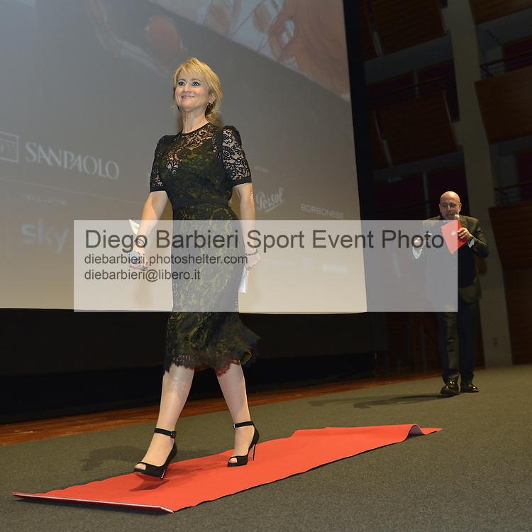 (KIKA) - TORINO - 22 novembre 2013 - Paolo Virzì e Luciana Littizzetto aprono la 31ma edizione del Torino Film Festival, all'Auditorium del Lingotto a Torino.