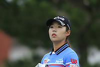 Mi Hyang Lee (KOR) on the 2nd tee during Round 2 of the Ricoh Women's British Open at Royal Lytham &amp; St. Annes on Friday 3rd August 2018.<br /> Picture:  Thos Caffrey / Golffile<br /> <br /> All photo usage must carry mandatory copyright credit (&copy; Golffile | Thos Caffrey)