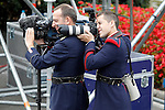 Two members of the Royal Guard during the National Day Military Parad.October 12,2012.(ALTERPHOTOS/Acero)