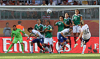 Mexico vs England, June 27, 2011