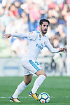 Francisco Roman Alarcon Suarez, Isco, of Real Madrid in action during the La Liga 2017-18 match between Getafe CF and Real Madrid at Coliseum Alfonso Perez on 14 October 2017 in Getafe, Spain. Photo by Diego Gonzalez / Power Sport Images