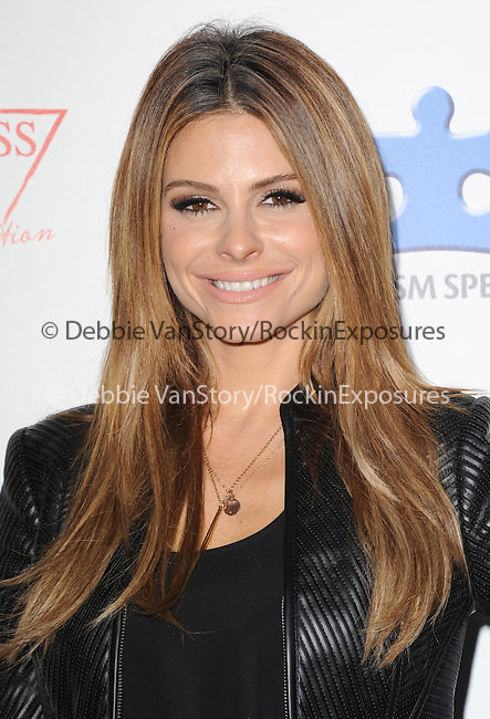 Maria Menounos attends The Autism Speaks 3rd Annual Blue Jean Ball held at Boulevard 3 in Hollywood, California on October 24,2012                                                                               © 2013 Hollywood Press Agency