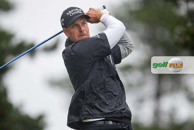 Henrik Stenson (SWE) on the 7th during round 3 of the Aberdeen Asset Management Scottish Open 2017, Dundonald Links, Troon, Ayrshire, Scotland. 15/07/2017.<br /> Picture Fran Caffrey / Golffile.ie<br /> <br /> All photo usage must carry mandatory copyright credit (&copy; Golffile | Fran Caffrey)