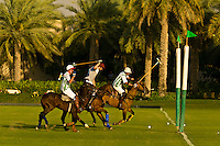 Polo Match, Desert Palm Polo Estate at the Desert Palm Hotel, Dubai, United Arab Emirates
