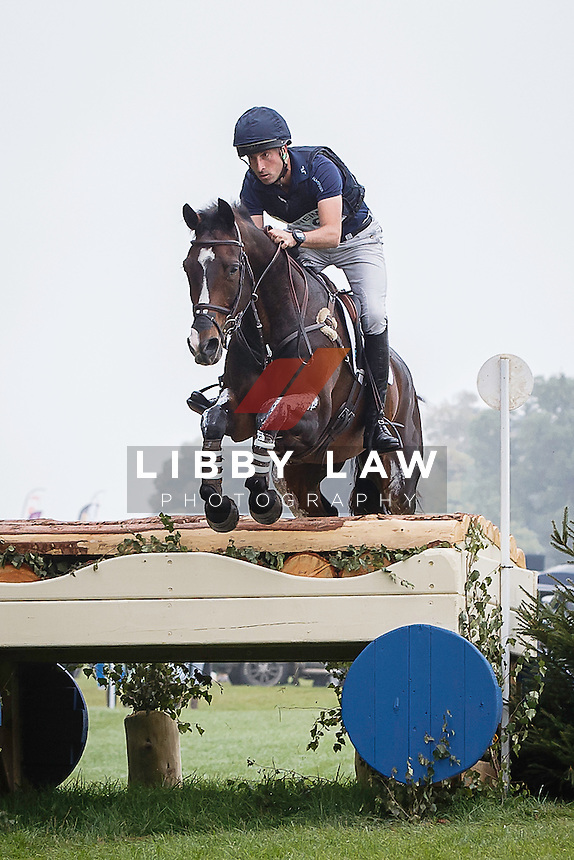 NZL-Tim Price (XAVIER FAER) FINAL-10TH: CIC3* CROSS COUNTRY: 2015 GBR-Blenheim Palace International Horse Trial (Sunday 20 September) CREDIT: Libby Law COPYRIGHT: LIBBY LAW PHOTOGRAPHY
