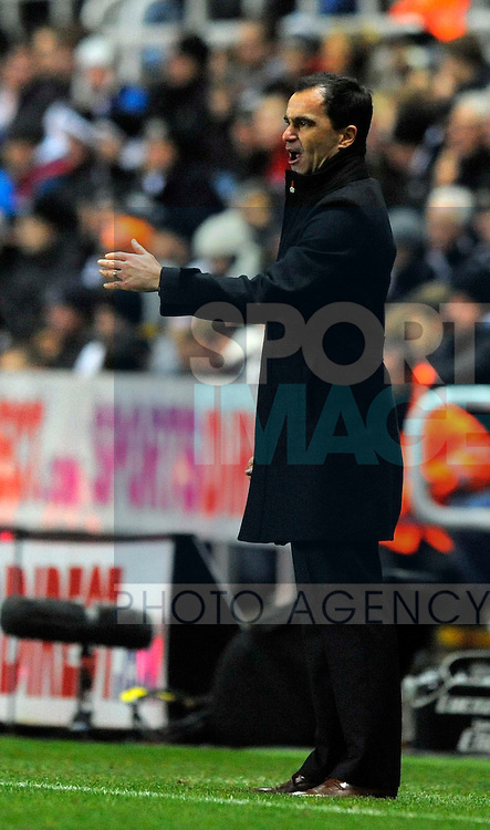 Wigan manager Roberto Martinez - Barclays Premier League - Newcastle Utd vs Wigan Athletic - St. James' Park - Newcastle - 03/12/12 - Picture Richard Lee/Sportimage