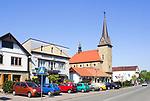 Dobczyce – miasto w województwie małopolskim, w powiecie myślenickim.<br /> Dobczyce is a town in the Lesser Poland.<br /> Market square in Dobczyce, Poland