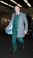 NEW YORK, NY - JANUARY 8: Hugh Bonneville at New York Live promoting Paddington 2 in New York City on January 8, 2018. <br /> CAP/MPI/RW<br /> &copy;RW/MPI/Capital Pictures