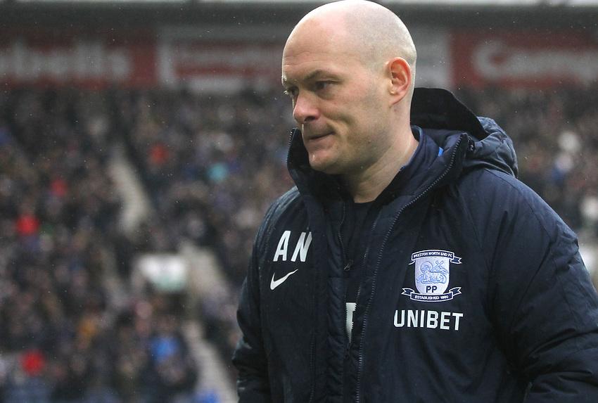 Preston North End's Manager Alex Neil<br /> <br /> Photographer Mick Walker/CameraSport<br /> <br /> The EFL Sky Bet Championship - Preston North End v Swansea City - Saturday 12th January 2019 - Deepdale Stadium - Preston<br /> <br /> World Copyright © 2019 CameraSport. All rights reserved. 43 Linden Ave. Countesthorpe. Leicester. England. LE8 5PG - Tel: +44 (0) 116 277 4147 - admin@camerasport.com - www.camerasport.com