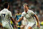 Toni Kroos of Real Madrid reacts during their La Liga match at the Santiago Bernabeu Stadium between Real Madrid and RC Celta de Vigo on 27 August 2016 in Madrid, Spain. Photo by Diego Gonzalez Souto / Power Sport Images