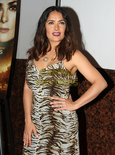 21 June 2016 - Los Angeles, California - Salma Hayek-Pinault. &quot;Septembers of Shiraz&quot; Los Angeles Premiere held at the Museum of Tolerance. <br /> CAP/ADM<br /> &copy;ADM/Capital Pictures