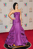 Scarlet Ortiz at Univision's Premio Lo Nuestro a La Musica Latina at American Airlines Arena on February 16, 2012 in Miami, Florida. © mpi10/MediaPunch Inc