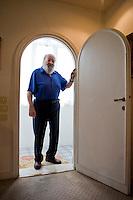 Roma, 25 Settembre, 2014. Bud Spencer nella sua casa di Roma