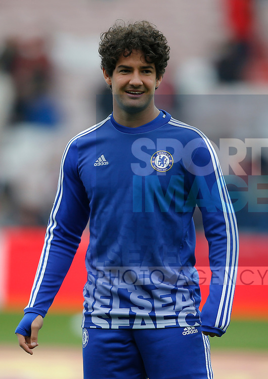 Alexandre Pato of Chelsea during the Barclays Premier League match at the Stadium of Light, Sunderland. Photo credit should read: Simon Bellis/Sportimage