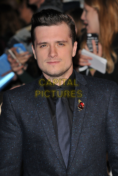 Josh Hutcherson attends the , Odeon Leicester Square, Leicester Square, London, England, UK, on Thursday 05 November 2015. <br /> CAP/CAN<br /> &copy;CAN/Capital Pictures
