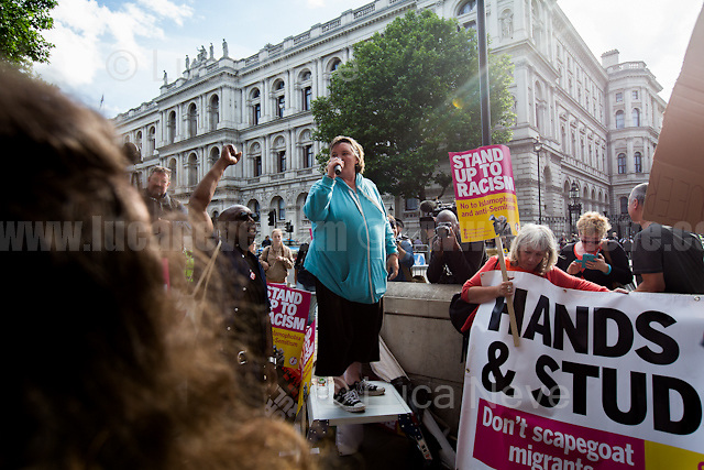 Paula Peters (Member of Disabled People Against Cuts, DPAC).<br />
