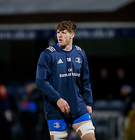 4th January 2020; RDS Arena, Dublin, Leinster, Ireland; Guinness Pro 14 Rugby, Leinster versus Connacht; Ryan Baird of Leinster warms up prior to kickoff - Editorial Use