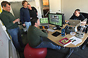 Sorenson Media software engineers work on their new program called Sorenson Squeeze in Carlsbad, California, in 2007, which does a high quality reformatting of video for internet delivery.  photo for North County Times