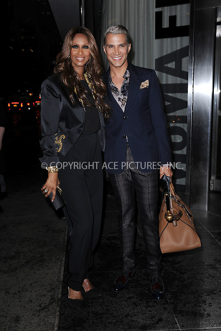 WWW.ACEPIXS.COM<br /> April 7, 2015 New York City<br /> <br /> Iman Abdulmajid and Jay Manuel attending the special screening of Relativity Studio's 'Desert Dancer' at Museum of Modern Art on April 7, 2015 in New York City.<br /> <br /> Please byline: Kristin Callahan/AcePictures<br /> <br /> ACEPIXS.COM<br /> <br /> Tel: (646) 769 0430<br /> e-mail: info@acepixs.com<br /> web: http://www.acepixs.com