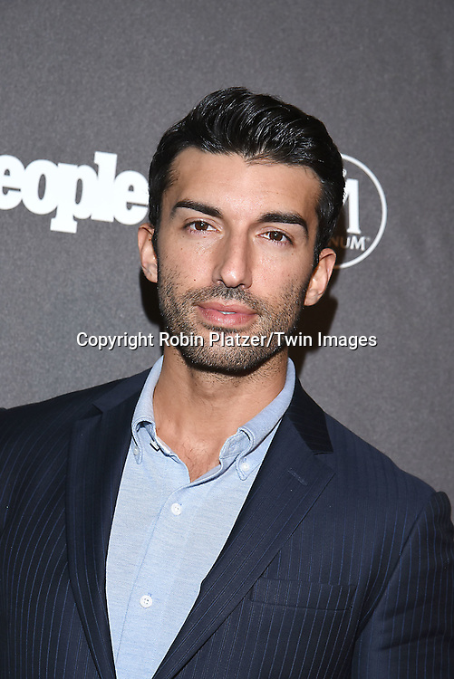 Justin Baldoni attends the Entertainment Weekly &amp; PEOPLE Magazine New York Upfronts Celebration on May 16, 2016 at Cedar Lake in New York, New York, USA.<br /> <br /> photo by Robin Platzer/Twin Images<br />  <br /> phone number 212-935-0770