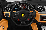 Car pictures of steering wheel view of a 2016 Ferrari California-T 2 Door Convertible Steering Wheel