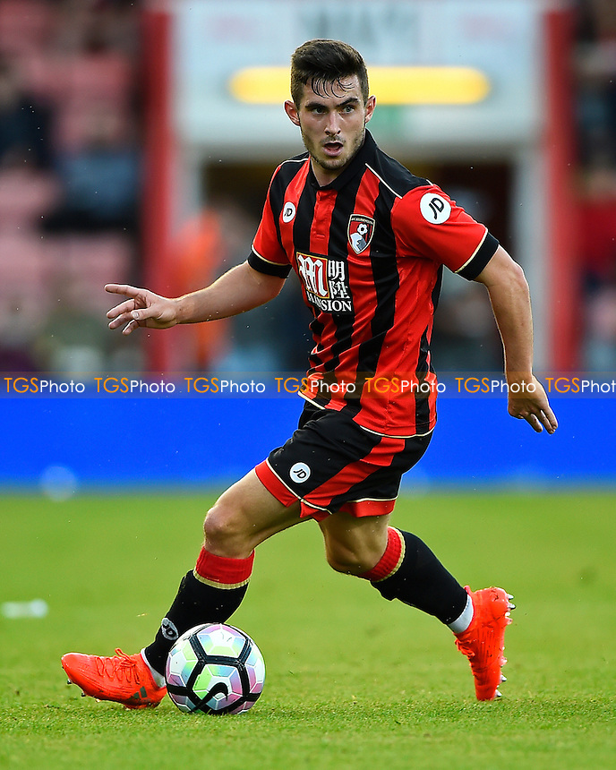Lewis Cook of AFC Bournemouth during AFC Bournemouth vs Valencia CF, Friendly Match Football at the Vitality Stadium on 3rd August 2016