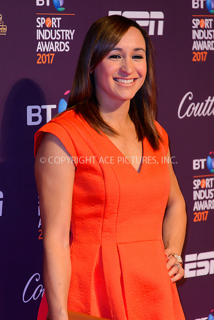 www.acepixs.com<br /> <br /> April 27 2017, London<br /> <br /> Jessica Ennis arriving at the BT Sport Industry Awards at Battersea Evolution on the 27th April 2017 at Battersea Evolution, London<br /> <br /> By Line: Famous/ACE Pictures<br /> <br /> <br /> ACE Pictures Inc<br /> Tel: 6467670430<br /> Email: info@acepixs.com<br /> www.acepixs.com