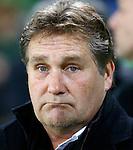 Nederland, Groningen, 15 december 2012.Eredivisie.Seizoen 2012-2013.FC Groningen-VVV Venlo.Ton Lokhoff, trainer-coach van VVV Venlo