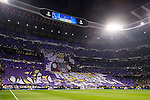The Santiago Bernabeu Stadium is seen prior to the 2016-17 UEFA Champions League match between Real Madrid and Borussia Dortmund on 07 December 2016 in Madrid, Spain. Photo by Diego Gonzalez Souto / Power Sport Images