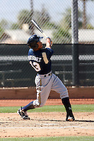 Edwin Maysonet of the Milwaukee Brewers plays in a spring training game against the Los Angeles Dodgers at the Brewers complex on April 2, 2011 in Phoenix, Arizona. .Photo by:  Bill Mitchell/Four Seam Images.