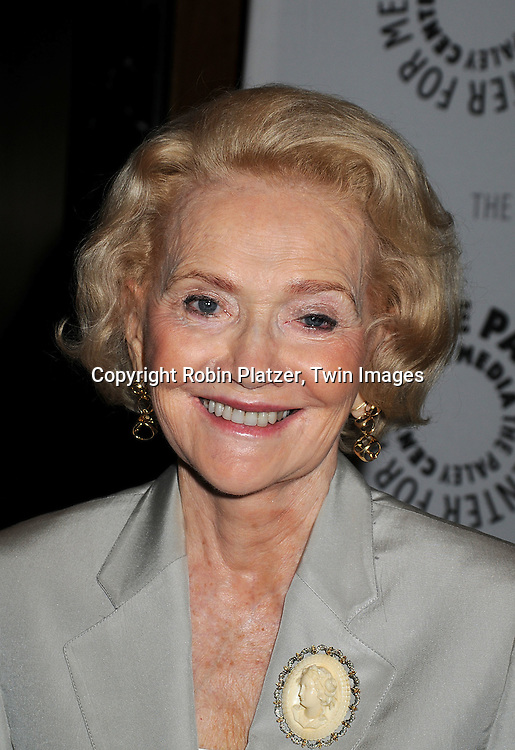 "Agnes Nixon ..at The Paley Center for the 40th Anniversary of ""One Life to Live on June 10, 2008. ....Robin Platzer, Twin Images"