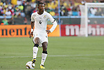 13 JUN 2010: John Pantsil (GHA). The Serbia National Team lost 0-1 to the Ghana National Team at Loftus Versfeld Stadium in Tshwane/Pretoria, South Africa in a 2010 FIFA World Cup Group D match.