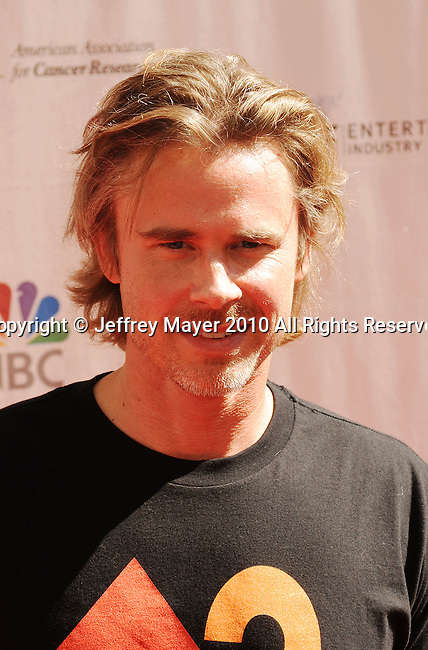 CULVER CITY, CA. - September 10: Sam Trammell arrives at Stand Up To Cancer at Sony Pictures Studios on September 10, 2010 in Culver City, California.
