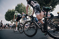 post-race stretch for Jay McCarthy (AUS/BORA-hansgrohe)<br /> <br /> 104th Tour de France 2017<br /> Stage 19 - Embrun › Salon-de-Provence (220km)