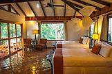 BELIZE, Punta Gorda, Toledo, Belcampo Belize Lodge and Jungle Farm, inside the Jungle Suite at Belcampo Belize