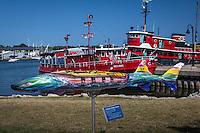 The Door County Maritime Museum in Sturgeon Bay Wisconsin.