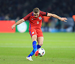 England's Jordan Henderson in action during the International Friendly match at Olympiastadion.  Photo credit should read: David Klein/Sportimage