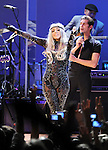 Lady Gaga and Perry Farrell performs with We are Plastic Ono Band on night 2 at The Orpheum Theatre in Downtown Los Angeles, California on October 02,2010                                                                   Copyright 2010  Debbie VanStory / RockinExposures