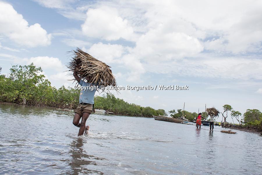 Quirimbas National Park, Mozambique.<br /> Marine area, Ibo Island.
