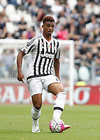 Calcio, Serie A: Juventus vs Palermo. Torino, Juventus Stadium, 17 aprile 2016.<br /> Juventus&rsquo; Mario Lemina in action during the Italian Serie A football match between Juventus and Palermo at Turin's Juventus Stadium, 17 April 2016.<br /> UPDATE IMAGES PRESS/Isabella Bonotto