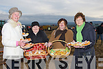 CAKES: Ladies from Abbeydorney who entered their cakes in the cake baking competition on Sunday at the Abbeydorney ploughing competition on the Corridon Family Land,Abbeydorney L-r: Kathleen Casey O'Connell, Maria Rigney, Margaret Shanahan and Peg Gill.